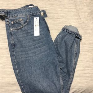 TOPSHOP mom jeans NWT